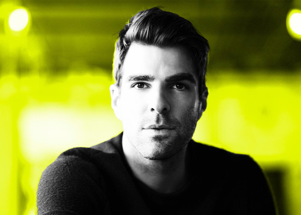 Actor Zachary Quinto is photographed for August Man on June 9, 2011 in New York City.