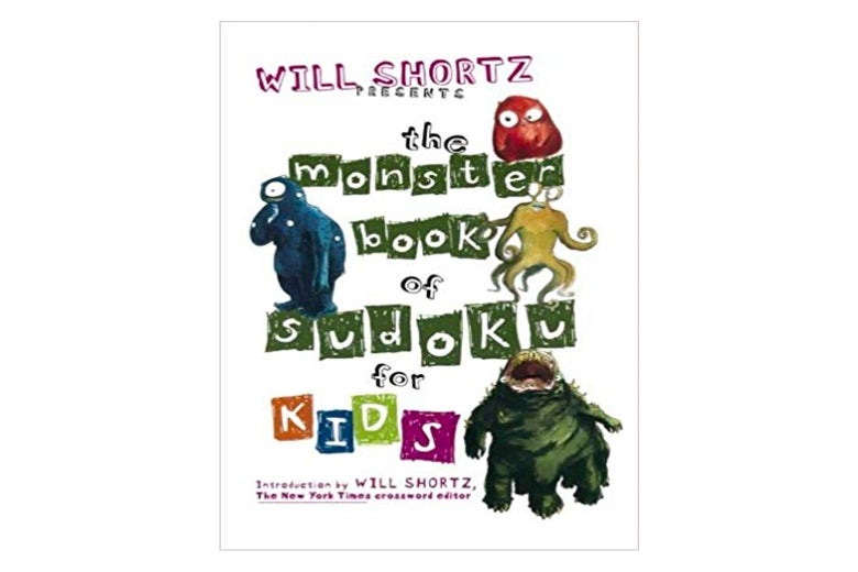 The Monster Book of Sudoku for Kids cover