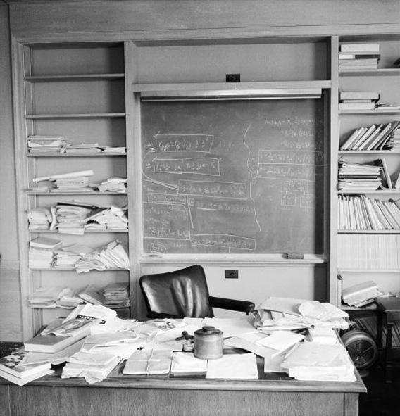 Albert Einstein's office.