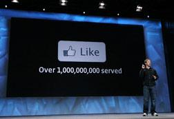"""Facebook """"Like"""" Button. Click image to expand."""