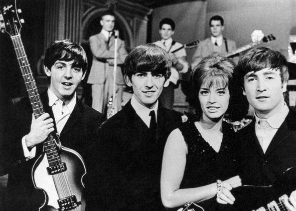 Lill-Babs and The Beatles took part in the Swedish show Drop-In in 1963.