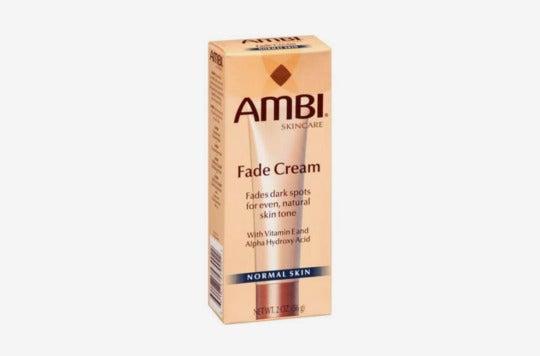 Ambi Skincare Fade Cream.