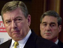 John Ashcroft and Robert Mueller. Click image to expand.