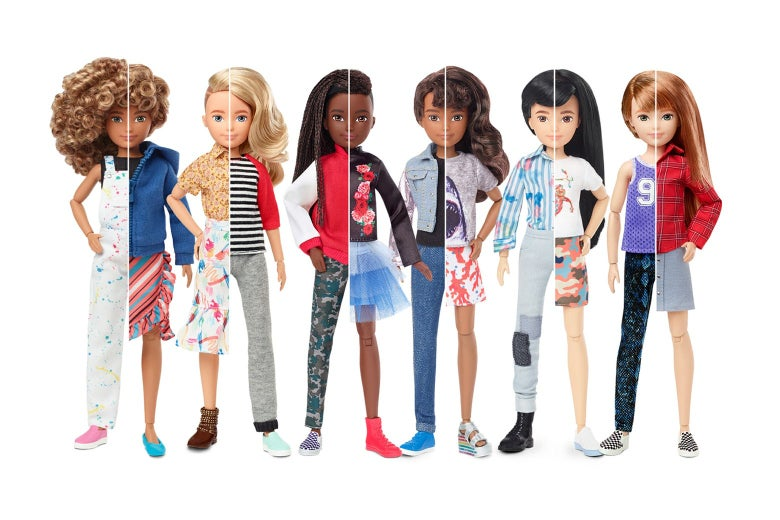 The Creatable World lineup from Mattel