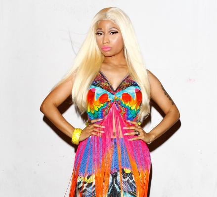 Nicki Minaj attends the 26th Annual ARIA Awards.
