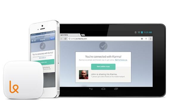 Karma, a mobile wireless hub