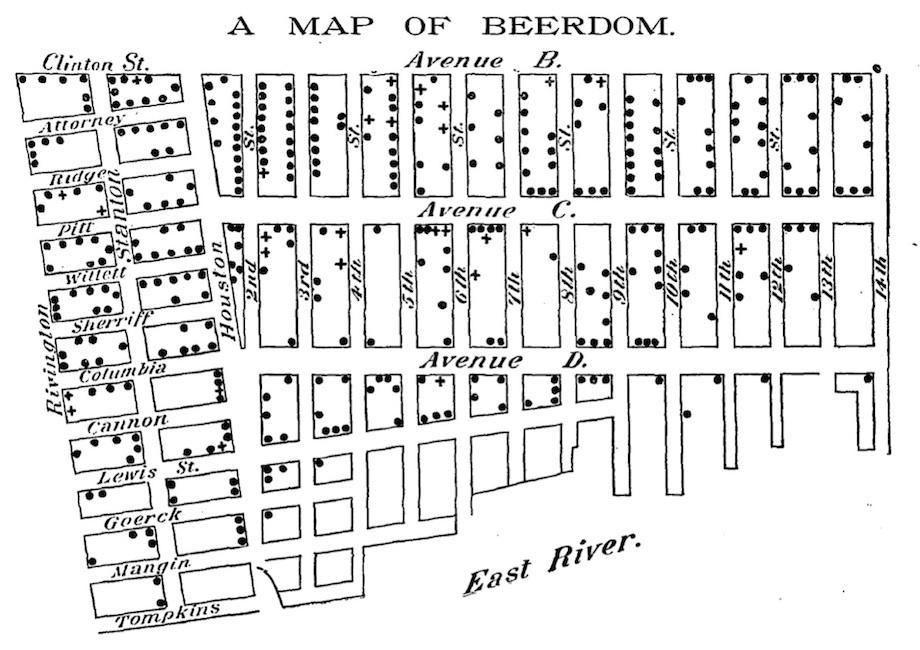 Beerdom Map