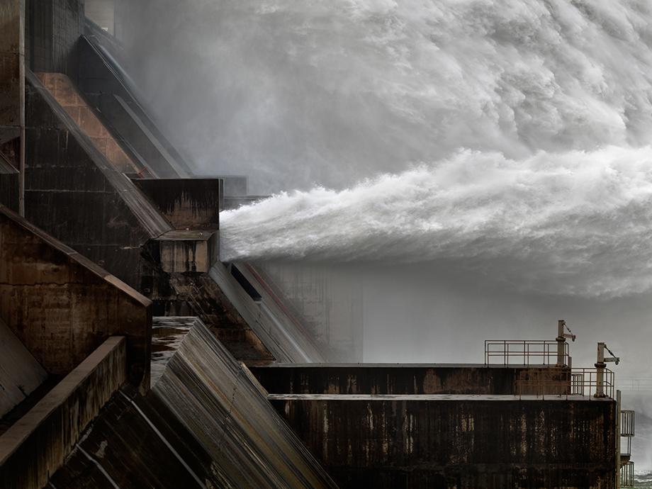 Xiaolangdi Dam #1, Yellow River, Henan Province, China 2011