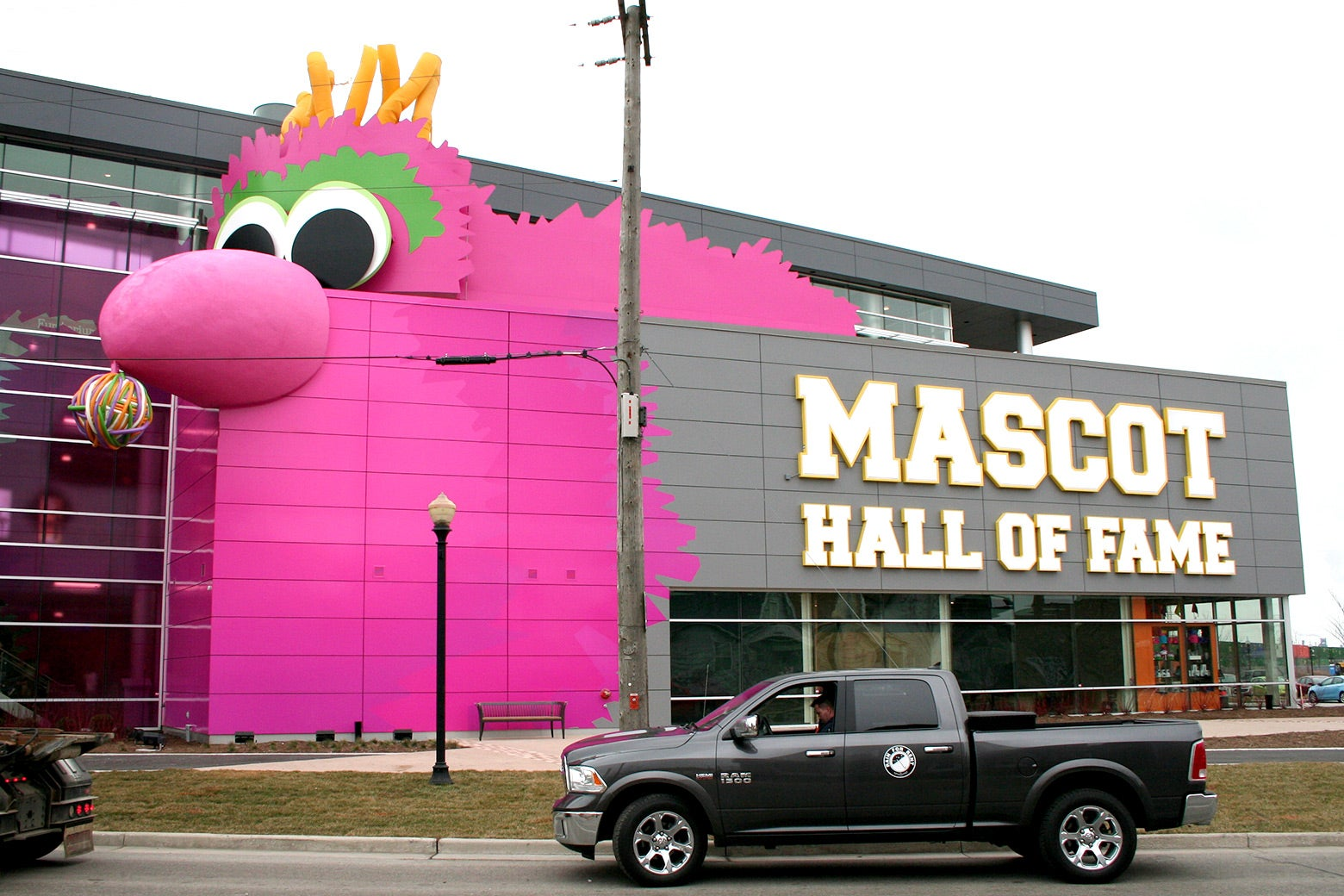 The Mascot Hall of Fame in Whiting, Indiana.