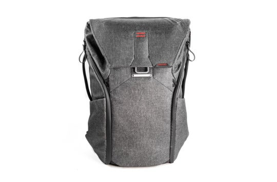 Gray Peak Design backpack.