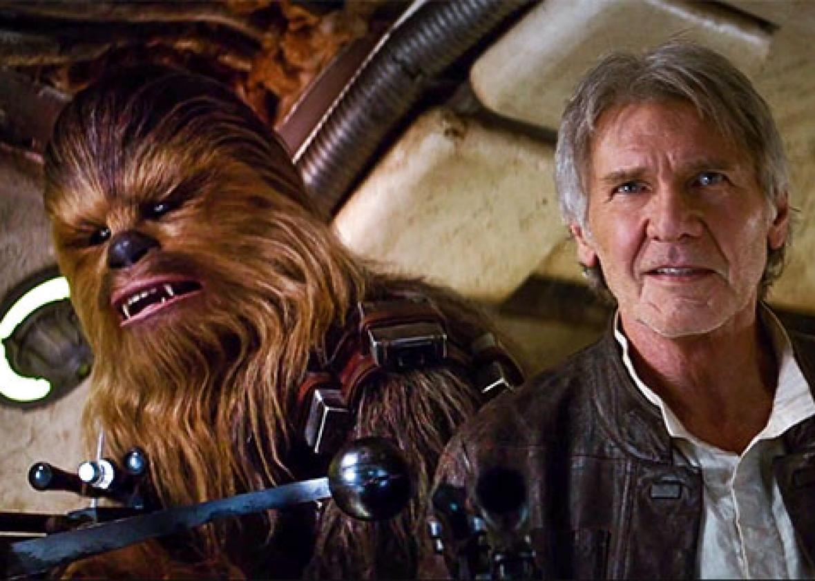 Star Wars: The Force Awakens trailer premiered new John Williams music.