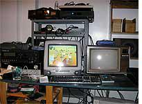 My desk in my studio
