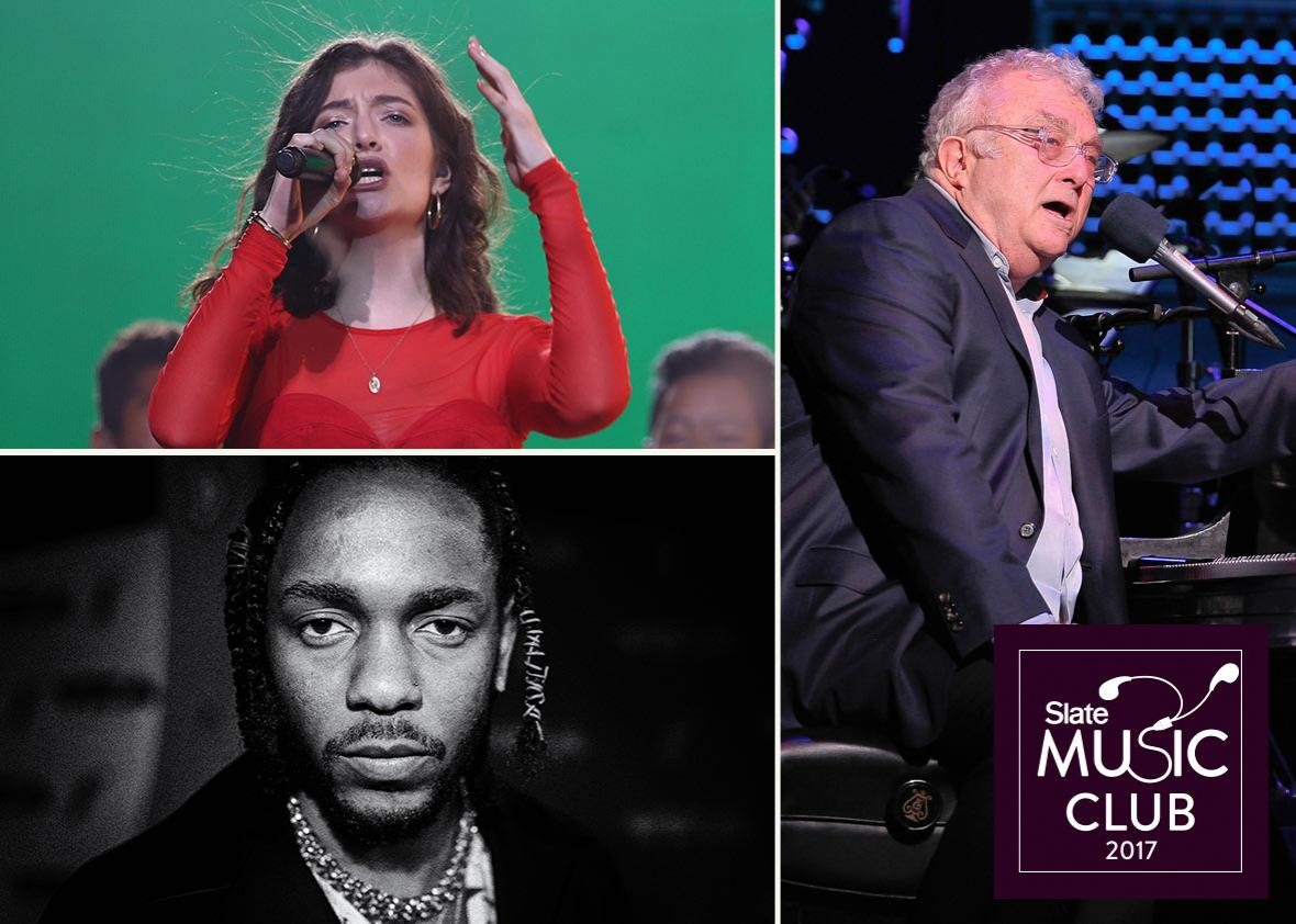Lorde, Kendrick Lamar, and Randy Newman