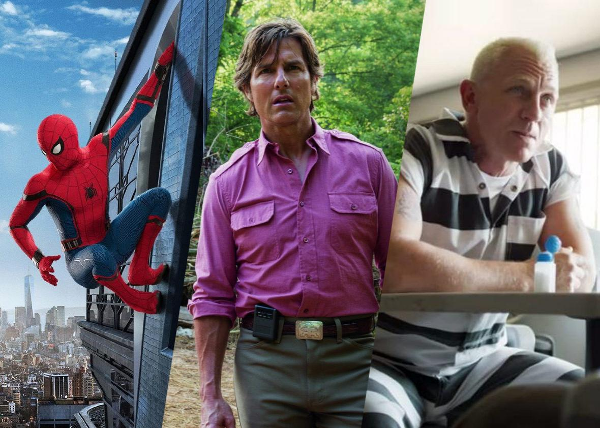 Spider-Man: Homecoming, American Made, and Logan Lucky