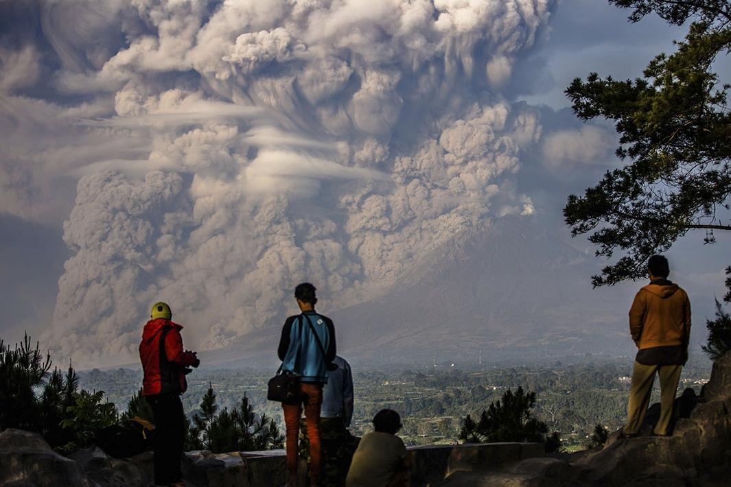 Feb. 9, 2015: North Sumatra, Indonesia