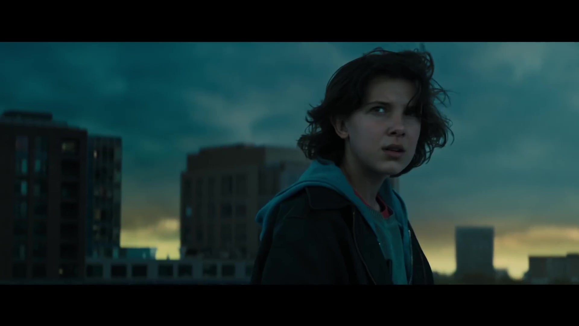 Millie Bobby Brown in Godzilla: King of the Monsters.