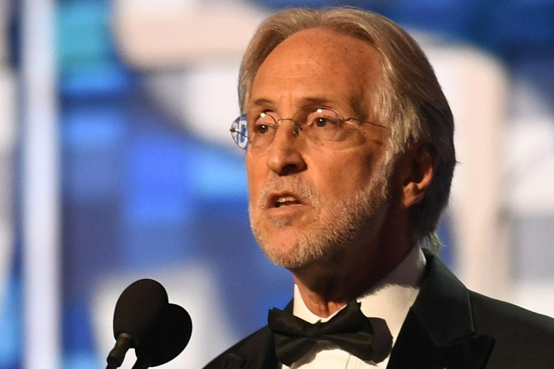The Recording Academy President Neil Portnow speaks onstage during the 61st Annual Grammy Awards on February 10, 2019, in Los Angeles. (Photo by Robyn Beck / AFP)        (Photo credit should read ROBYN BECK/AFP/Getty Images)