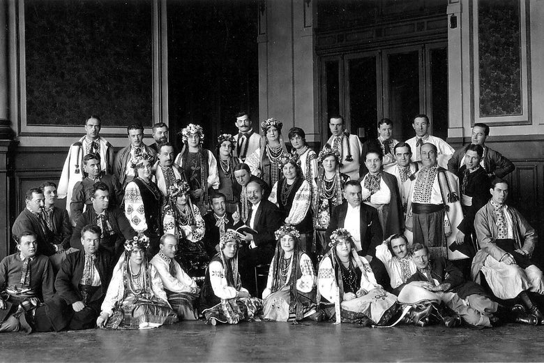 Archival photo of the Ukrainian National Chorus.