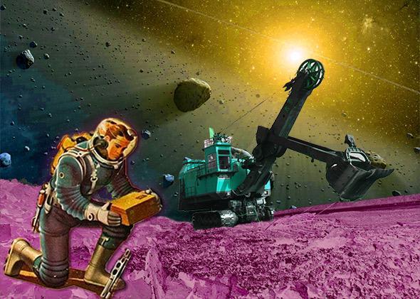 asteroid mining.