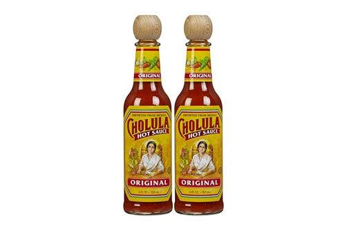 Cholula hot sauce.