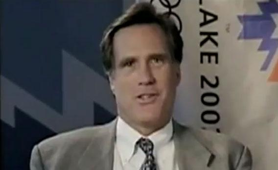 Mitt Romney speaks French