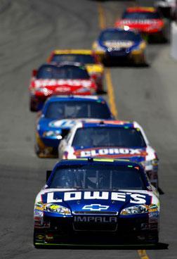 NASCAR racing.
