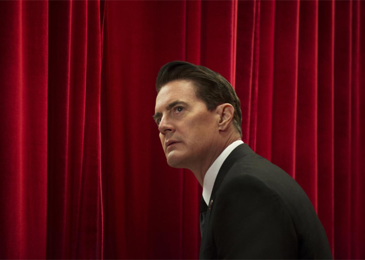 Kyle MacLachlan on Twin Peaks: The Return.