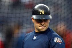 Nick Swisher, No. 33, of the New York Yankees.