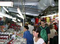 A night bazaar—need a cheap watch?