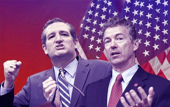 U.S. Sen. Ted Cruz and U.S. Sen. Rand Paul (R-KY).