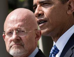 James Clapper and Barack Obama. Click image to expand.