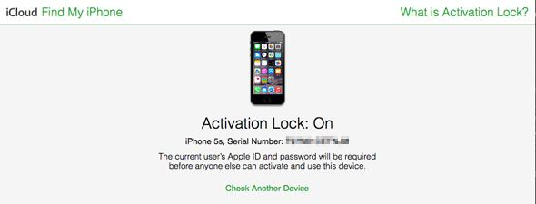 New iCloud activation lock tool checks if an old iPhone is