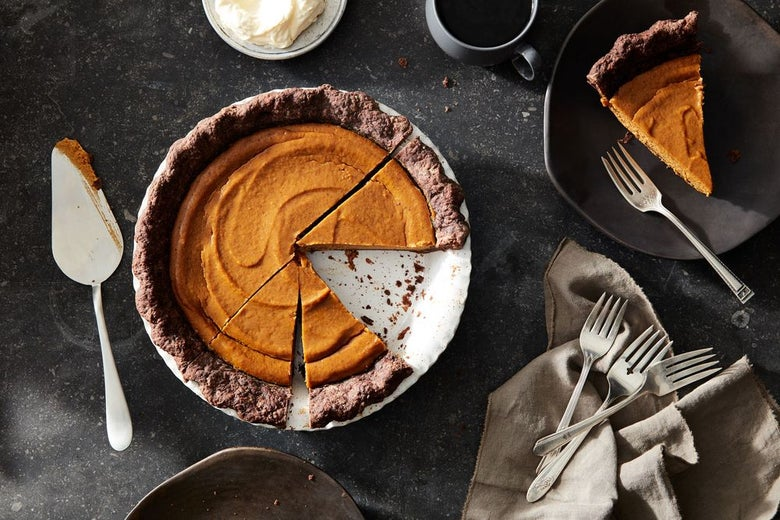 A Pie Crust for Chocolate Lovers Who Can't Get Enough
