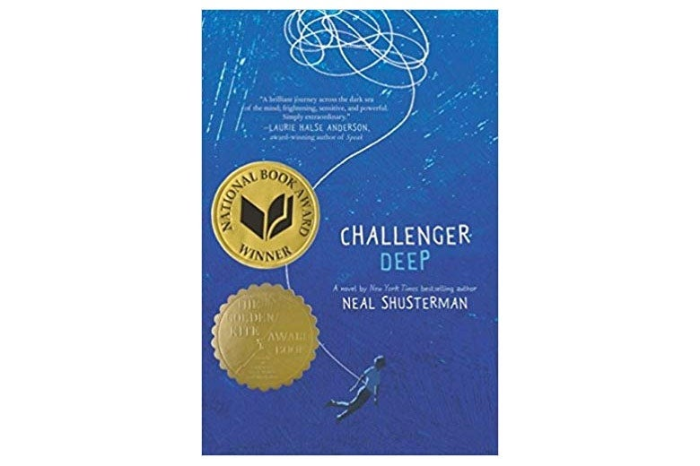 Challenger Deep book cover.