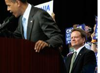 Barack Obama and Jim Webb. Click image to expand.
