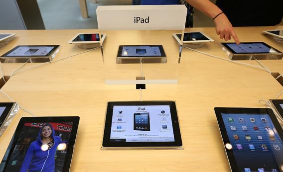 Fourth-generation Apple iPads
