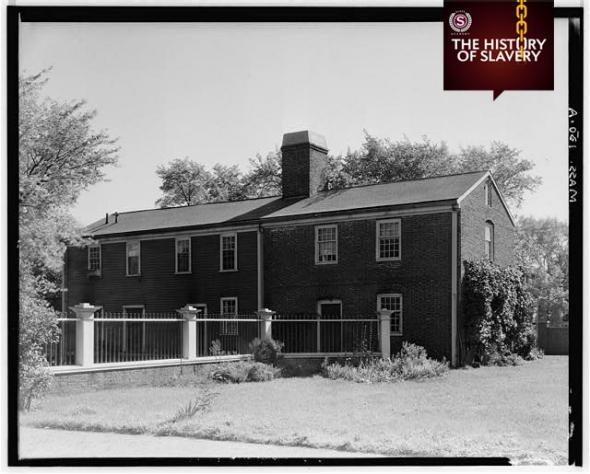 Colonel Isaac Royall Slave Quarters, 15 George Street, Medford, Middlesex County, MA