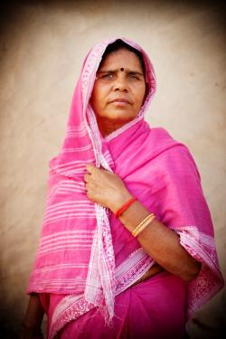 Sampat Pal Devi, the founder of Gulabi Gang.