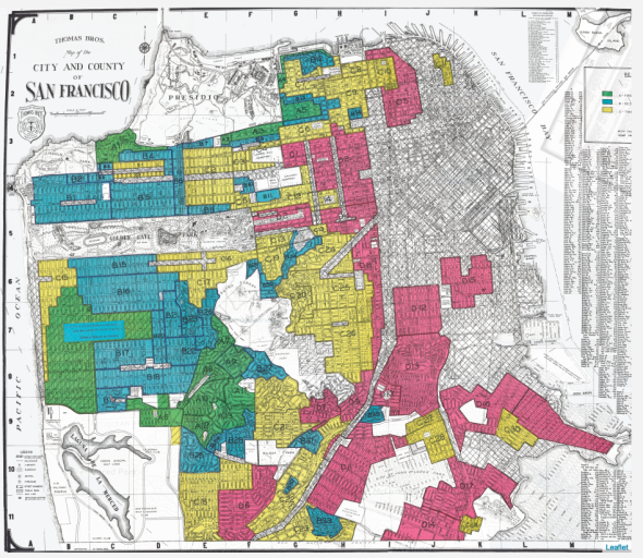 A new project shows how redlining emerged from firsthand reports of ...