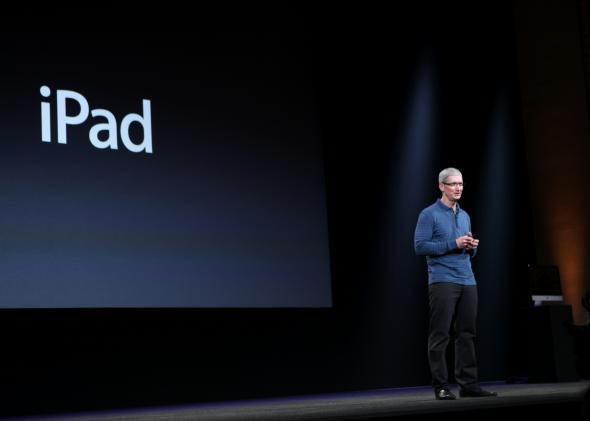 Apple iPad 5 launch
