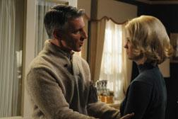 Henry Francis (Christopher Stanley) and Betty Draper (January Jones). Click image to expand.