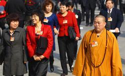 Shi Yongxin (right). Click image to expand.
