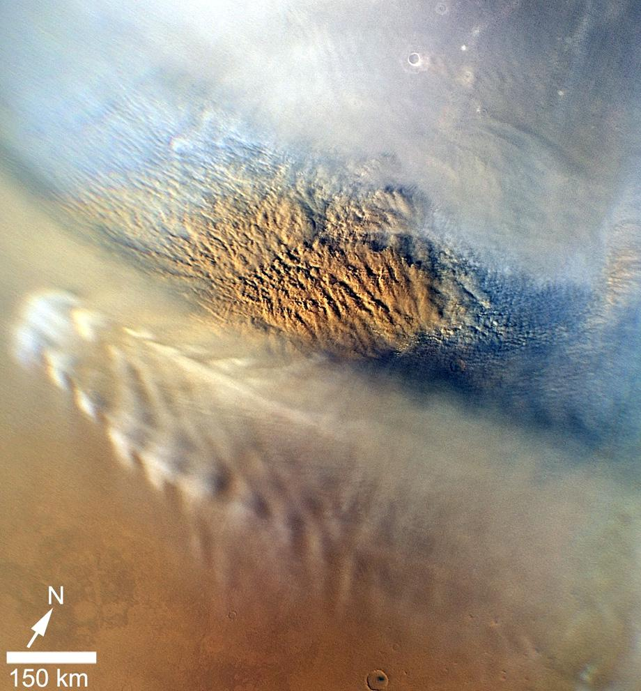 mars sand storms photo.