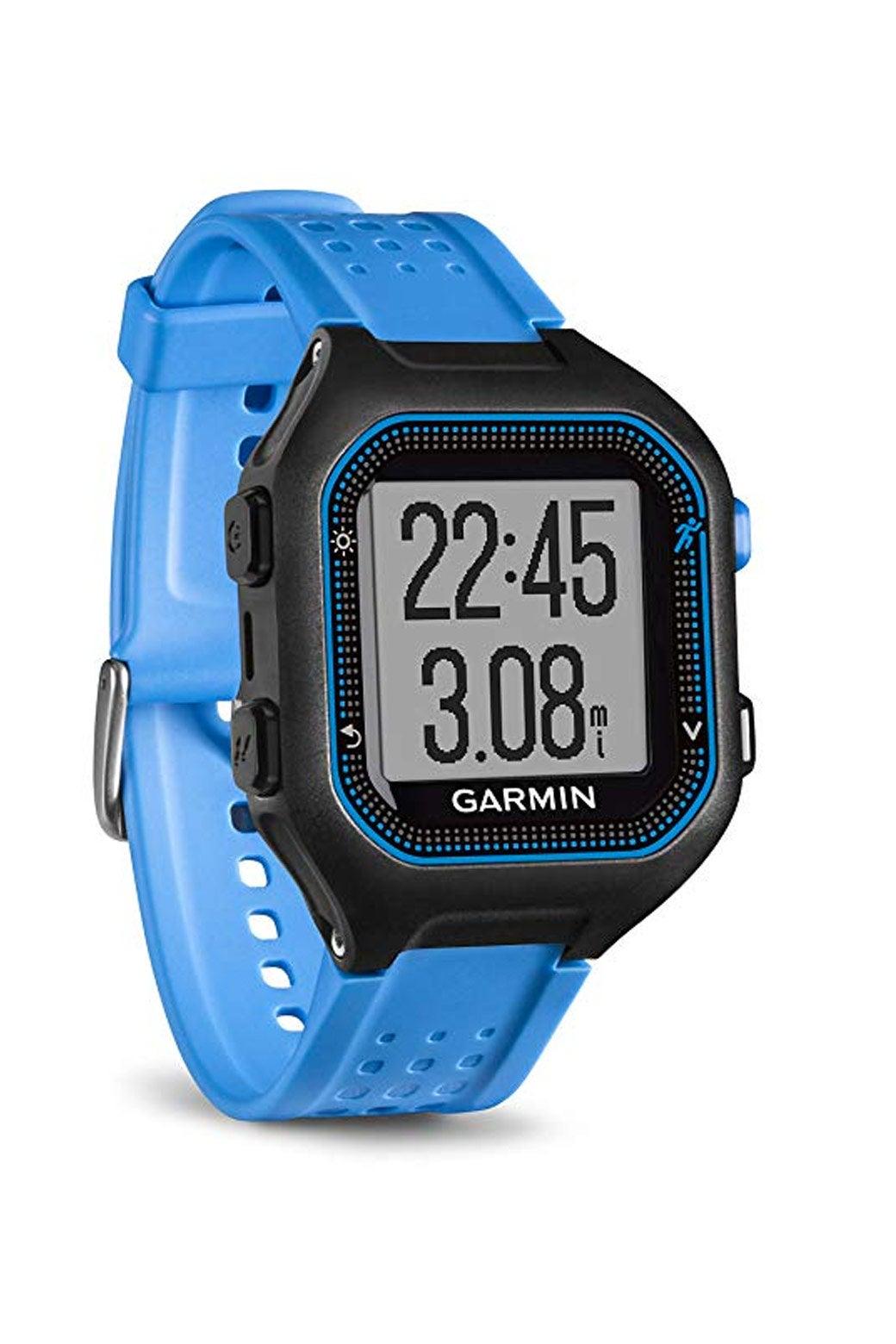 A Garmin watch.