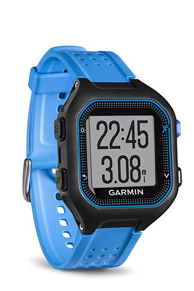 A Garmin watch.