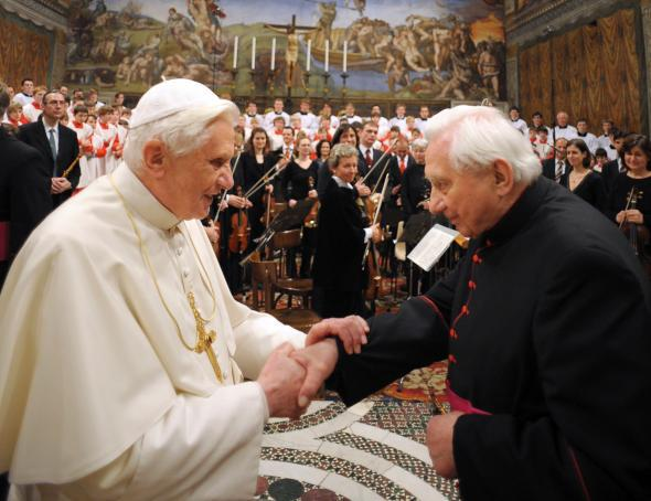 Pope Benedict brother