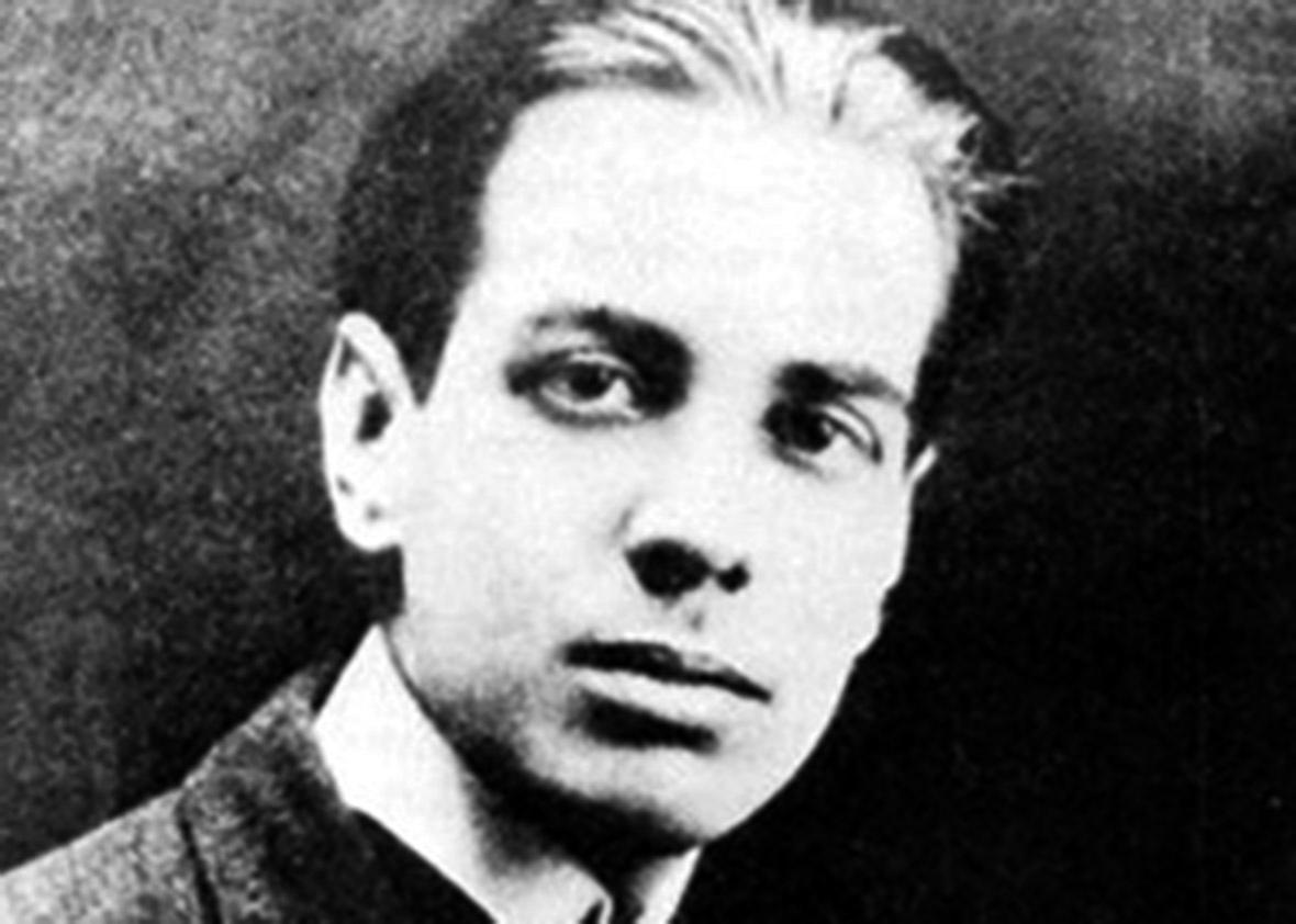 Jorge Luis Borges in 1921.