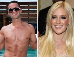 "Mike ""The Situation"" from Jersey Shore and Heidi Montag from The Hills. Click image to expand."
