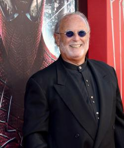 Producer Avi Arad arrives at the premiere of Columbia Pictures' 'The Amazing Spider-Man'.