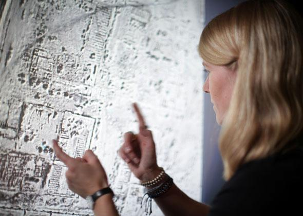 Dr. Sarah Parcak uses satellite imagery for archaeological research.